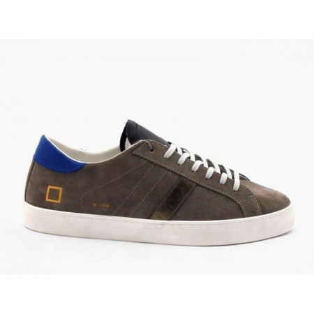 D.A.T.E. SNEAKERS HILL LOW SUEDE